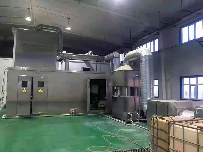 内蒙古牙克石商顺医疗处理中心设备3吨